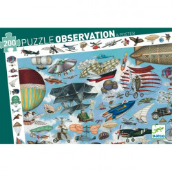 Puzzle observation - Aéro Club - 200 pcs