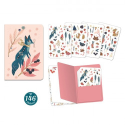 Duo petits carnets - Sticker Lucille