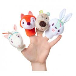 Forêt marionettes à doigts