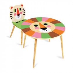 Table lion et chaise tigre