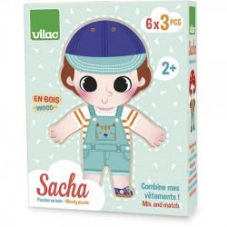 Sacha à habiller