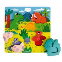 Puzzle cache cache - Dino