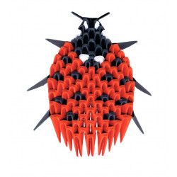 Origami 3D - Coccinelle