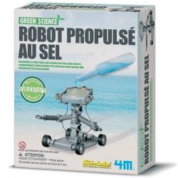 Robot propulsé au sel