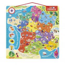 Puzzle France Magnetique