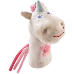 Marionnette à doigts Licorne