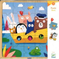 Puzzle bois - Puzzlo Boat
