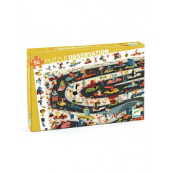 Puzzle observation - Rallye...