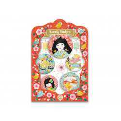 Coffret bijoux - 5 Badges misa