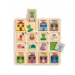Puzzle 3 niveaux - Cabanimo