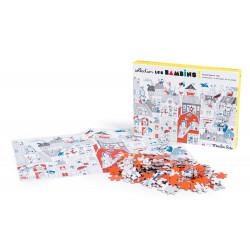 Puzzle - Dans la ville -...