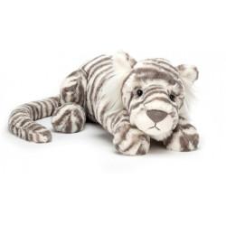 Peluche - Sacha  Tigre blanc