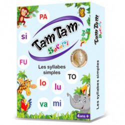 Tam Tam - Les syllabes simple