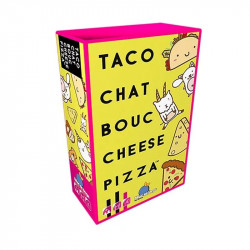 Taco Chat Bouc Chesse Pizza