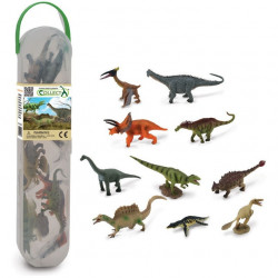 Set de 10 mini Dinosaures