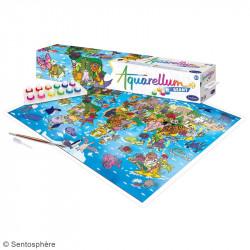 Aquarellum Geant - Planisphere