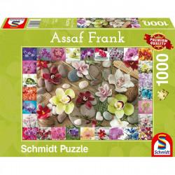 Puzzle 1000 pcs - Orchidees