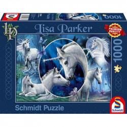 Puzzle 1000 pcs - Licornes...