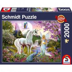 Puzzle 2000 pcs - La Fee et...