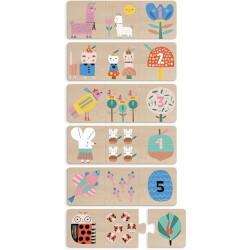 Puzzle trio Maman Bébé -...