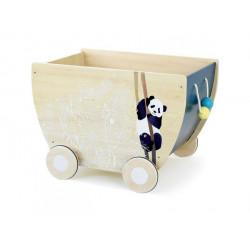 Chariot à jouets - Sous la...