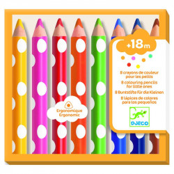Feutres - 8 crayons de...