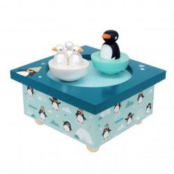 Manège musical - Pingouin