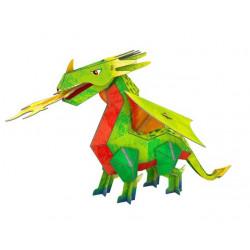 Maquette 3D - Le Dragon