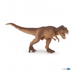 T-Rex courrant marron - Papo
