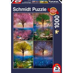 Puzzle 1000 pcs - Arbres au...