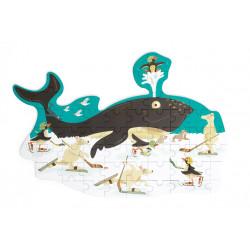 Puzzle Baleine - 60 pcs