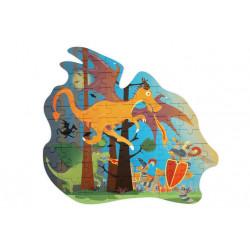 Puzzle Dragon - 61 pcs