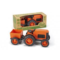 Tracteur orange - Green Toys