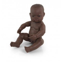 Poupée Bébé Garçon Africain...