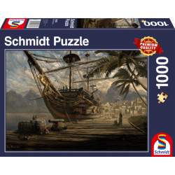 Puzzle 1000 pcs - Bateau au...