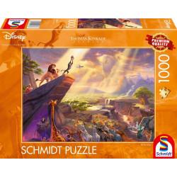 Puzzle 1000 pcs -  Le roi Lion
