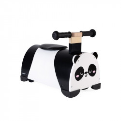 Porteur en bois Panda