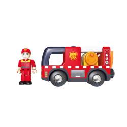 Camion de Pompier avec Sirène