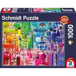 Puzzle 1000 pcs - Couleurs...