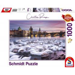 Puzzle 1000 pcs -  Prague...