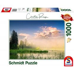 Puzzle 1000 pcs - Lac du...