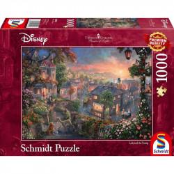Puzzle 1000 pcs - La belle...