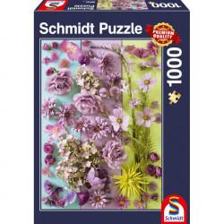 Puzzle 1000pcs - Fleurs...
