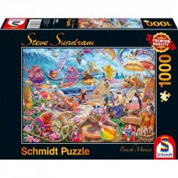Puzzle 1000pcs - Beach mania