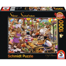 Puzzle 1000 pcs - Chef Mania