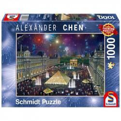 Puzzle 1000pcs - Louvre