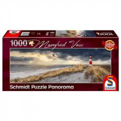 Puzzle 1000 pcs - Phare à Sylt