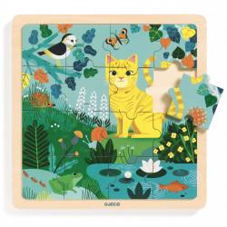 Puzzle bois - Puzzlo Lily