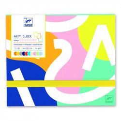 Arty block - Papier coloré