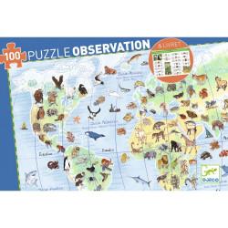 Puzzle observation 100 pcs...
